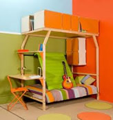 Childrens Bedroom Furniture and Kids Themed Beds  perfect for a play area and sleeping